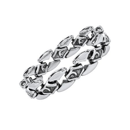 Stainless Steel Gothic Link Bracelet (Alchemy Gothic Bracelet)