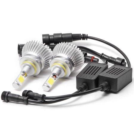 Biltek LED Fog / Driving Light Conversion Bulbs for 2005-2009 Chrysler 300C With HID (H10 Bulbs) - image 2 de 4