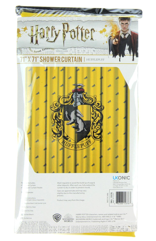 Harry Potter Shower Curtain Hogwarts Houses Gryffindor Slytherin Ravenclaw Hufflepuff Walmart Com Walmart Com