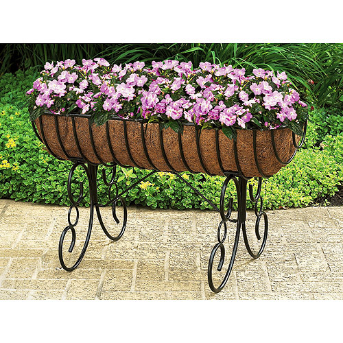 30 Horse Trough Style Floor Planter Walmart Com