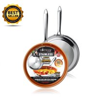 New! Gotham Steel Stainless Steel Premium 8.5 Non Stick Frying Pan  As Seen on TV!