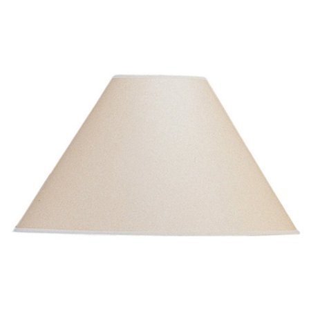 Cal Lighting Vertical Basic Coolie Kraft Paper Lamp Shade