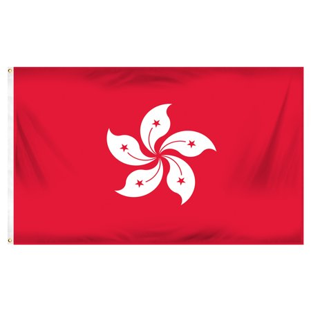 3x5 Hong Kong Flag Country China Banner Asian Pennant Indoor Outdoor