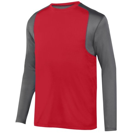 Augusta Astonish Long Sleeve Jersey Rd/Gt 2Xl - image 1 of 1