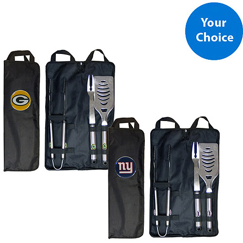 Your Choice NFL BBQ Set with Optional Grill Cover