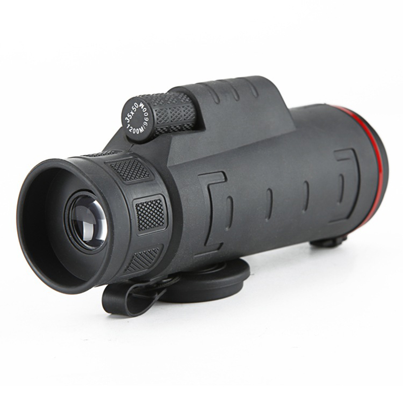 Redcolourful Mobilephone Monocular Telescope Outdoor 8X Clip Telescope Camera Lens for Cell Phone 160X50X50MM by