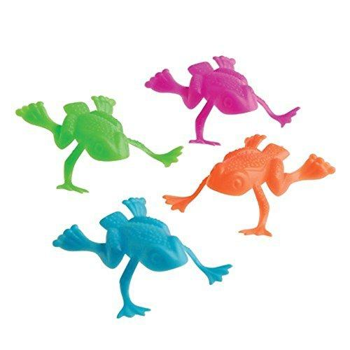 US Toy Bag Of Funny Jumping Toy Frogs 2