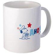 CafePress Snoopy AHOY Mugs Unique Coffee Mug, Coffee Cup CafePress by