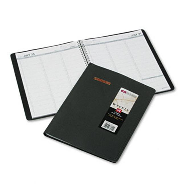 At-A-Glance 7095020 Weekly Appointment Book  15-Minute Appointments  8-1/4 x 10-7/8  Navy - image 1 de 1