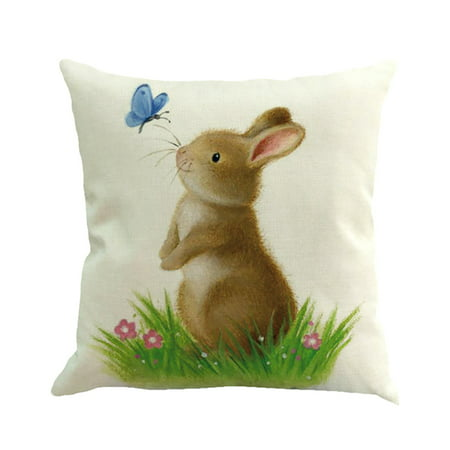Easter Sofa Bed Home Decoration Festival Pillow Case Cushion - Easter Home Decorations