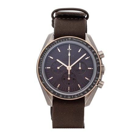 Pre-Owned Omega Speedmaster Apollo 11 45th Anniversary 311.62.42.30.06.001 Watch (2-Year WatchBox warranty)