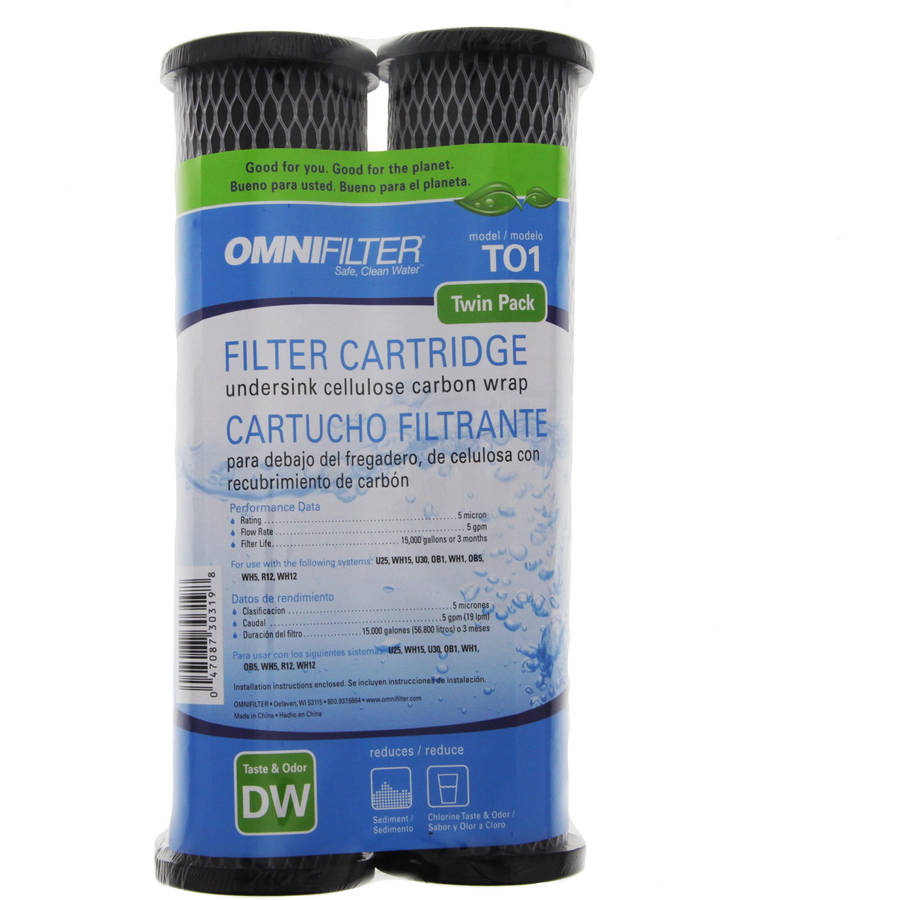 TO1DS OmniFilter Replacement Whole House Water Filter Cartridge, 2pk