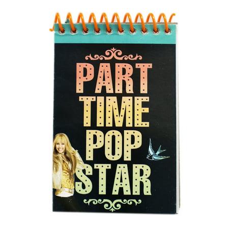 Disney's Hannah Montana Part Time Pop Star Spiral Notepad Disney Hannah Montana Charm