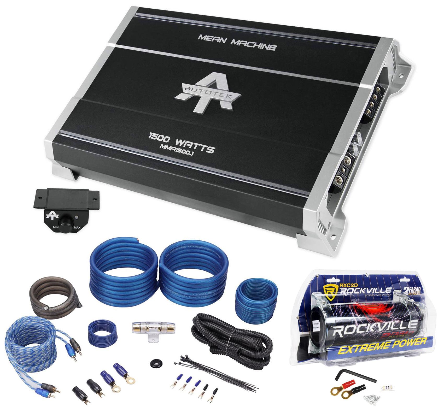 Autotek MMA1500.1 1500w Mono Car Audio Amplifier Mean Mac...