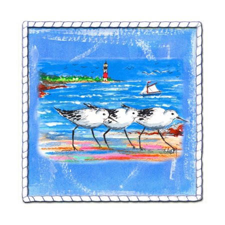 Beach-Front-Shore Birds Print Wall Art By Ormsby, Anne Ormsby ()