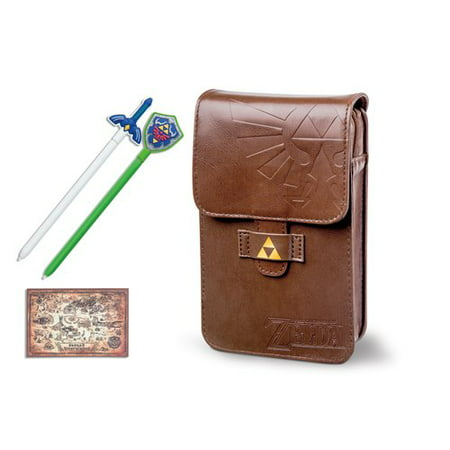 powera legend of zelda adventurers pouch kit for nintendo 3ds 1305220 01. Black Bedroom Furniture Sets. Home Design Ideas