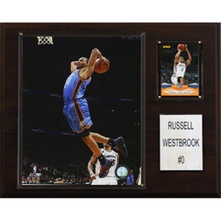 C Collectables Nba 12X15 Russell Westbrook Oklahoma City Thunder Player Plaque