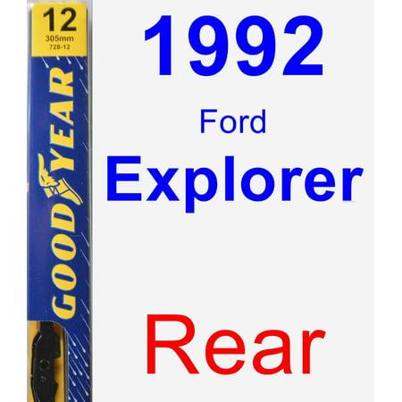 1992 Ford Explorer Rear Wiper Blade - Premium
