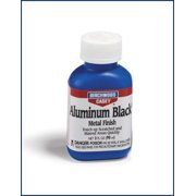 BIRCHWOOD CASEY ALUMINUM BLACK TOUCH UP BLACK METAL FINISH 3 OZ