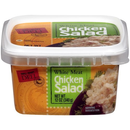 Wal-Mart Deli: White Meat Chicken Salad, 12 oz