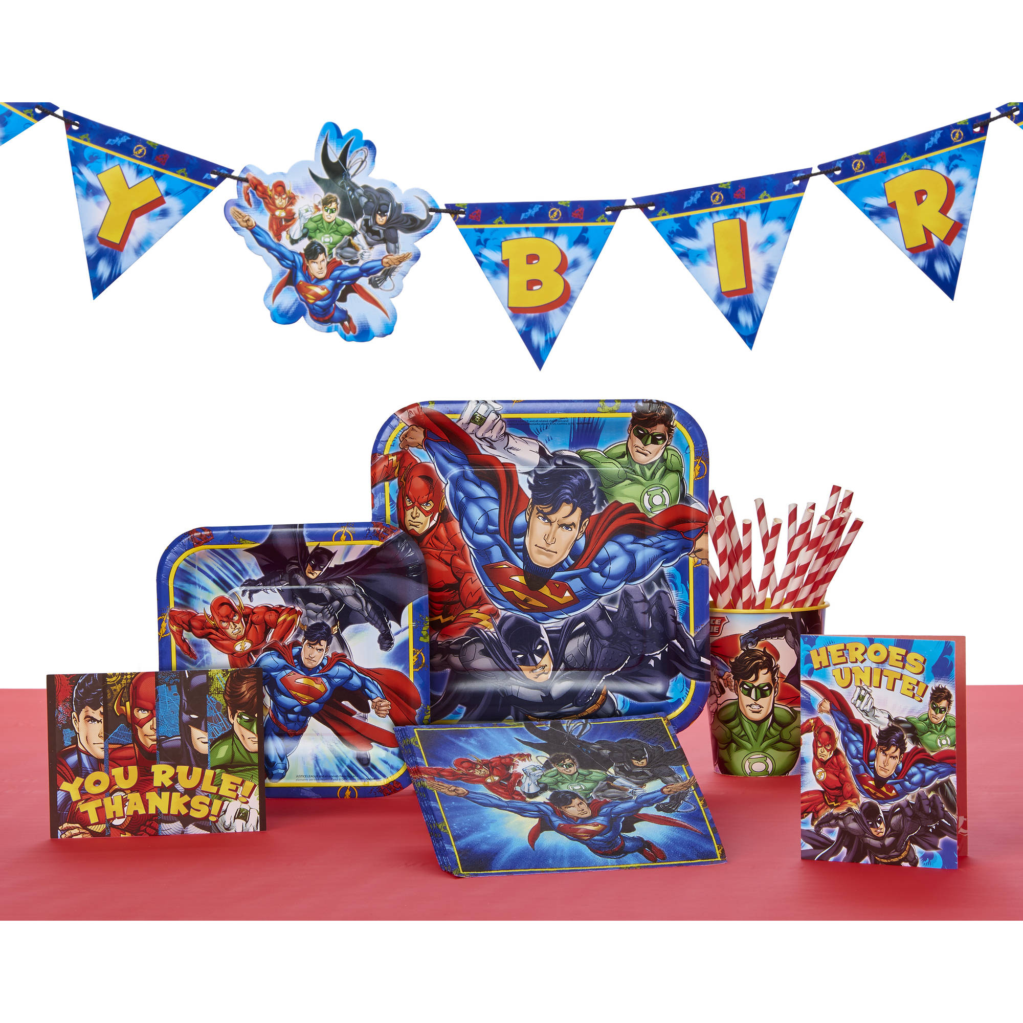Justice League Party Supplies Walmart Com