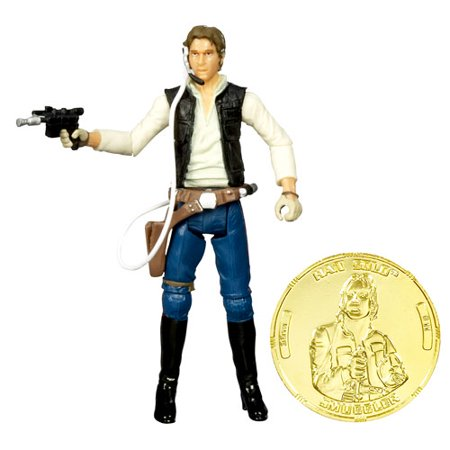 Star Wars 30Th Anniversary 2007 Wave 2 Han Solo Action Figure  Gunners Station