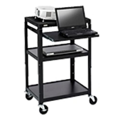 Bretford A2642NS-M4 26-42 inches Adjustable Steel Projector Cart (Refurbished)