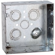 Electrical Box,Square,4-11/16 in. 258