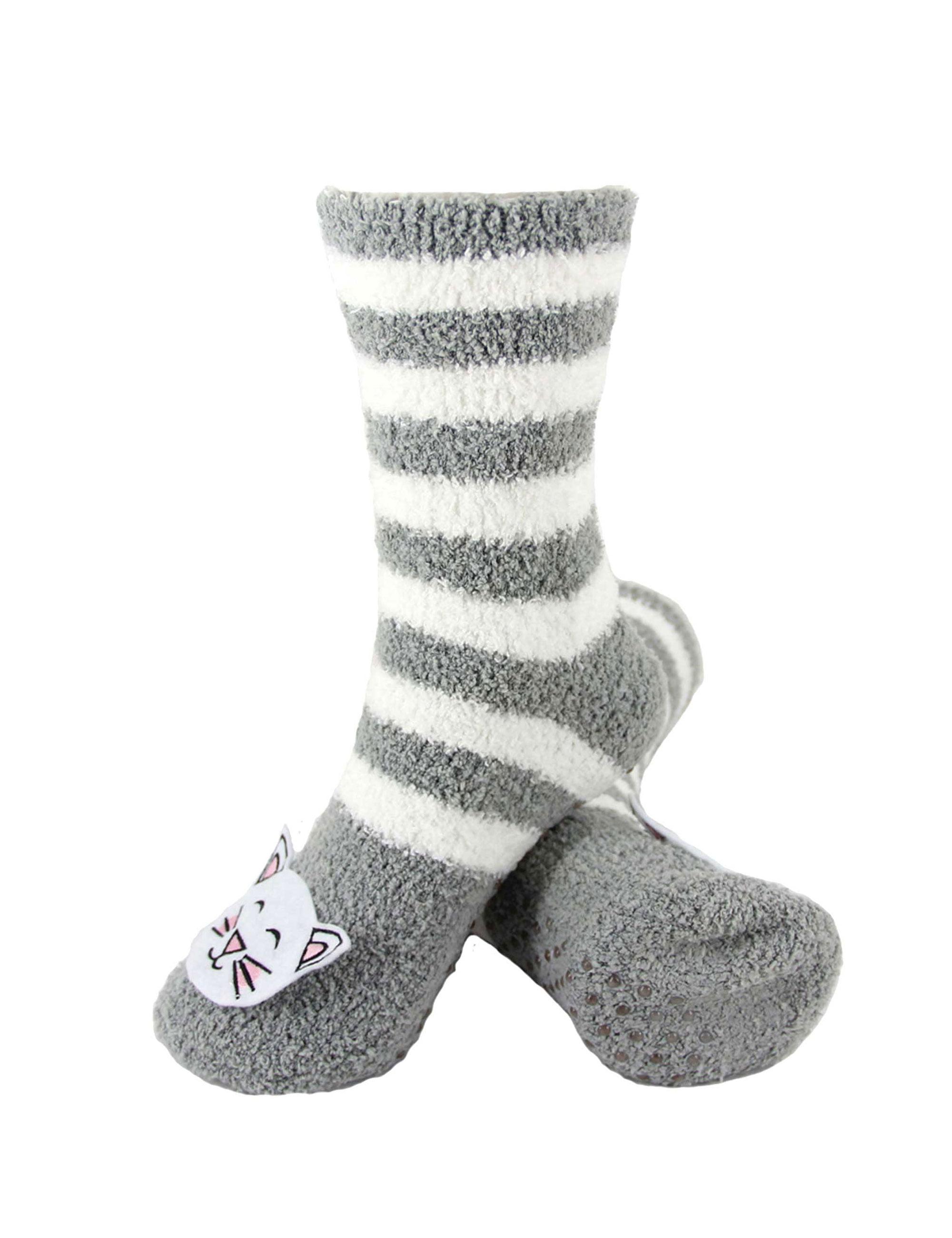 Meow cat soft BAMBOO ORGANIC Crew Sock Bleuseriouslysillysocks