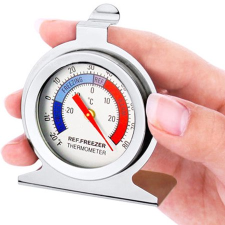 Classic Dial Fridge Freezer Thermometer Food Meat Temperature Gauge - Dial Temperature Range