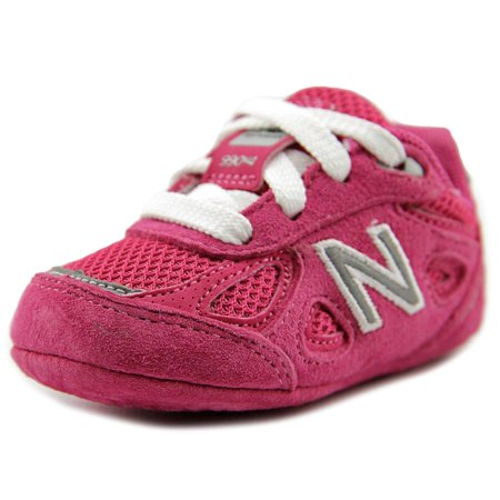 New Balance Kid's 990v4 Infant Girls Shoes Pink (Best Wide Toe Running Shoes)