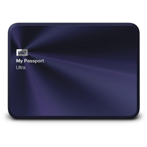 WESTERN DIGITAL MY PASSPORT ULTRA METAL EDITION 2TB BLUE-BLACK PREMIUM STORAGE WITH STYLE by Western Digital