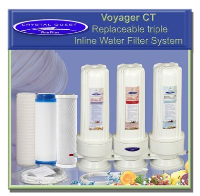 Crystal Quest A Voyager Inline Triple Replaceable ULTRA W...