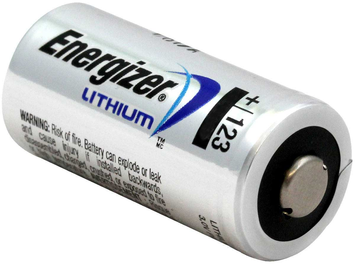 Streamlight Lithium Batteries Pack of 3 CR123A 3V
