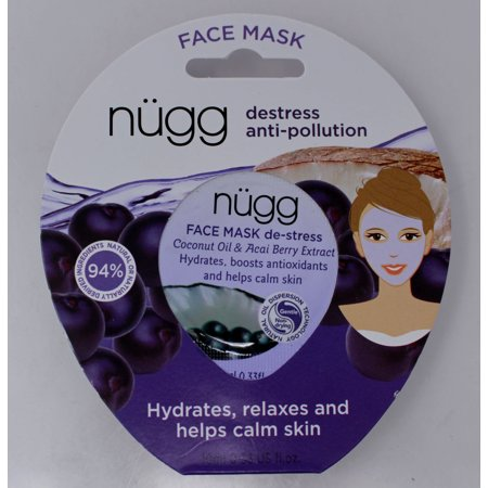 Nugg destress anti -pollution Face Mask with Coconut & Acai Berry Extract