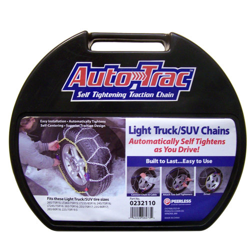 Peerless Auto-Trac Light Truck/SUV Tire Chains, #232110