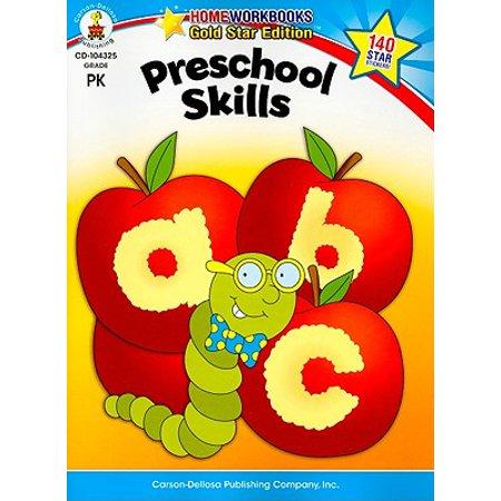 Preschool Skills : Gold Star Edition (Preschool Education Halloween Songs)
