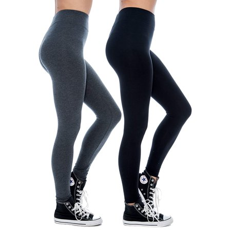 Women & Plus Soft Cotton Active Stretch Ankle Length Lightweight Leggings