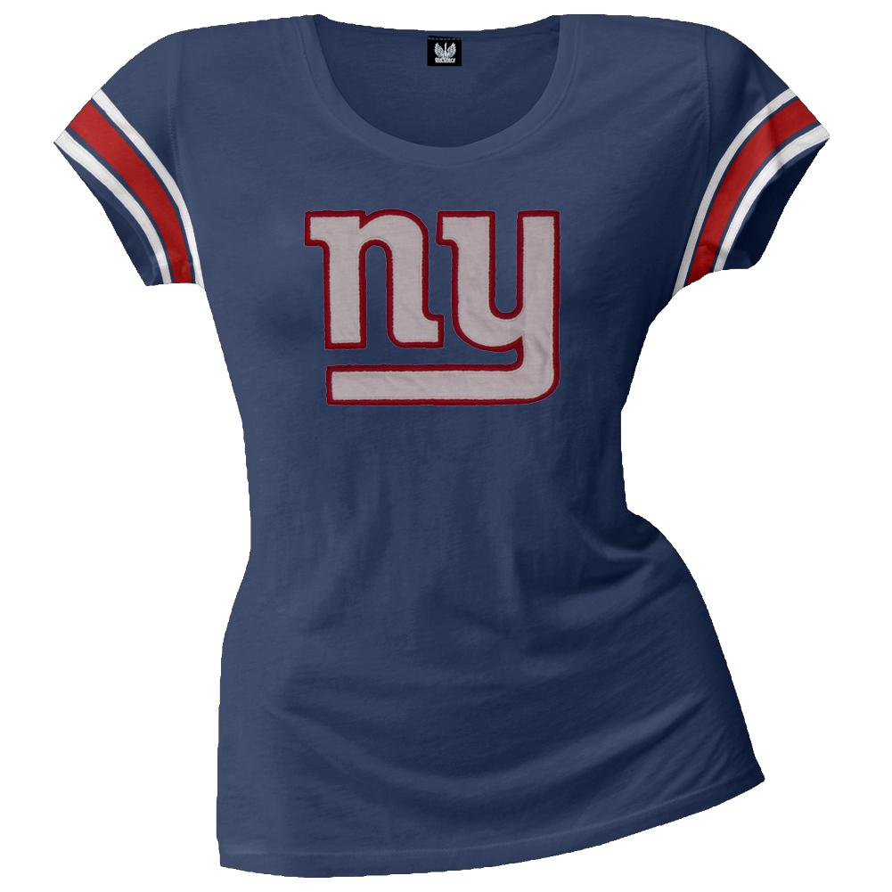 New York Giants - Off-Campus Juniors Premium Scoop T-Shirt