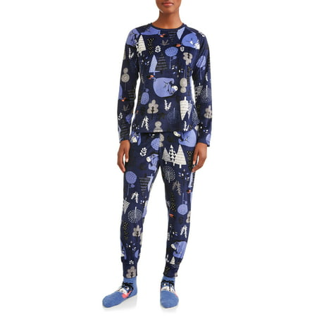 7695cae650 Disney - Eeyore Women s and Women s Plus Pajama Gift Set - Walmart.com