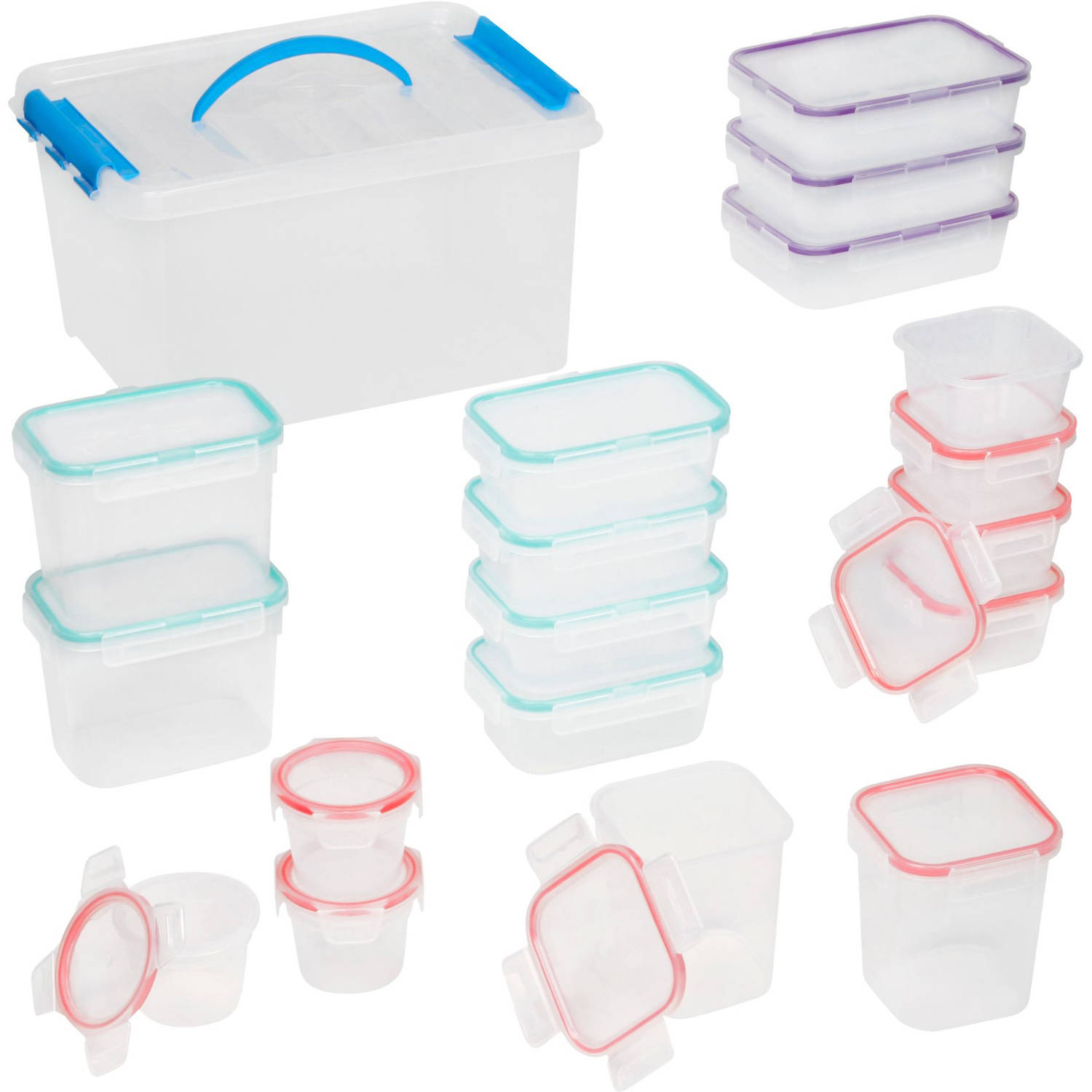 Snapware Airtight 38-Piece Tote Set