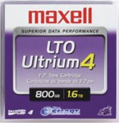 Maxell LTO Ultrium 4 WORM Tape Cartridge - LTO Ultrium LTO-4 - 800GB (Native) / 1.6TB