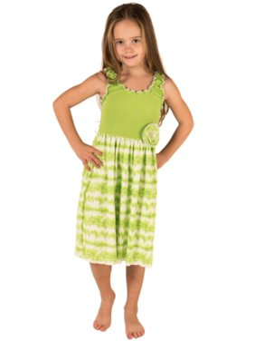 5f903d8b68d9 Green Big Girls Casual Dresses - Walmart.com