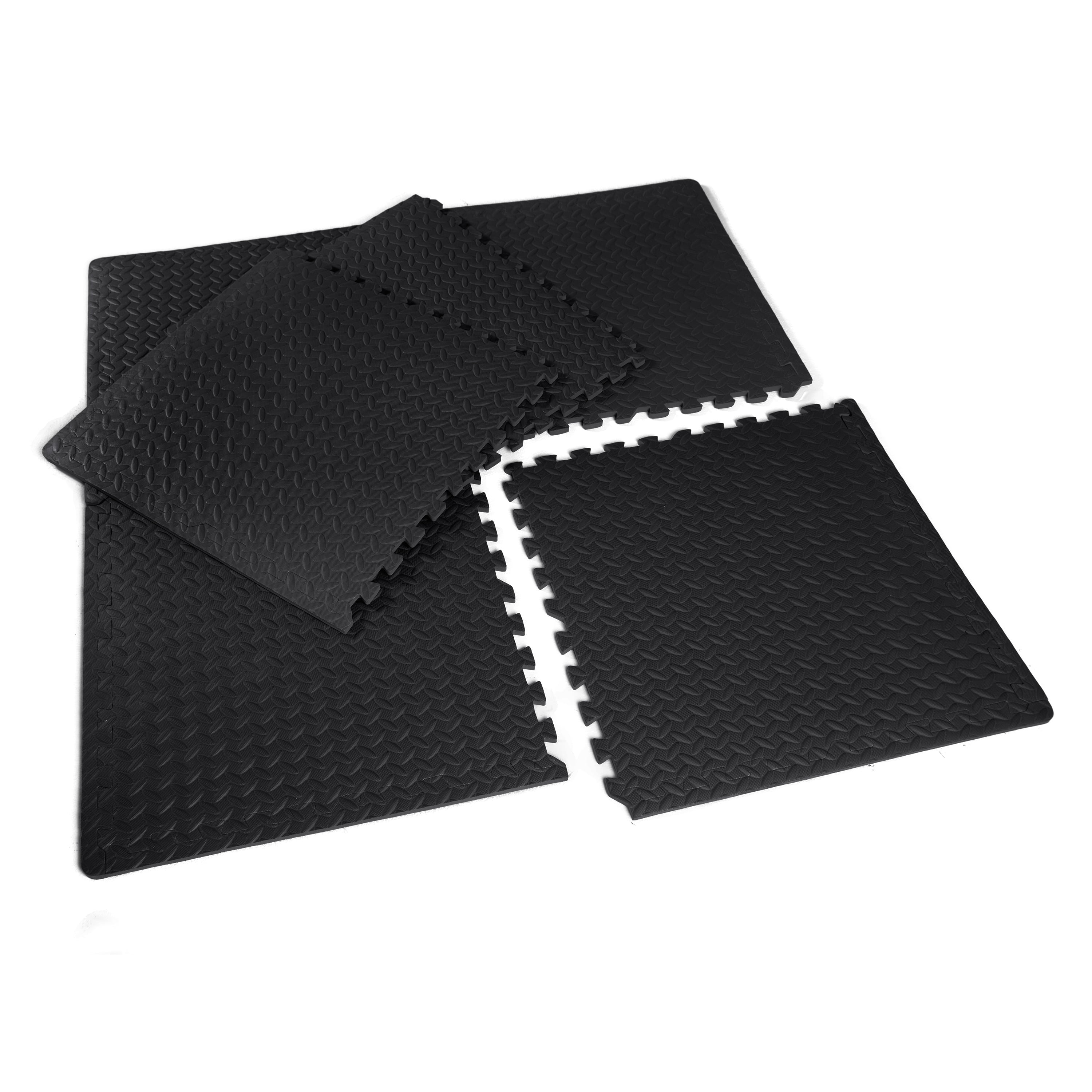 Cap barbell high impact flooring puzzle exercise gym mat pieces