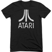 Atari Men's  Rough Logo T-shirt Black