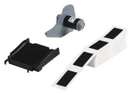 BRADY M71-29-423 Label Cartridge,Wht,Polyester,1-1//2 In W