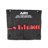 ABN Premium Auto Trim Removal Tool Kit - 11 Piece Pry Bar Set , Fastener Remover