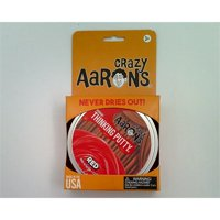 """Crazy Aaron's Thinking Putty - 4"""" Red"""