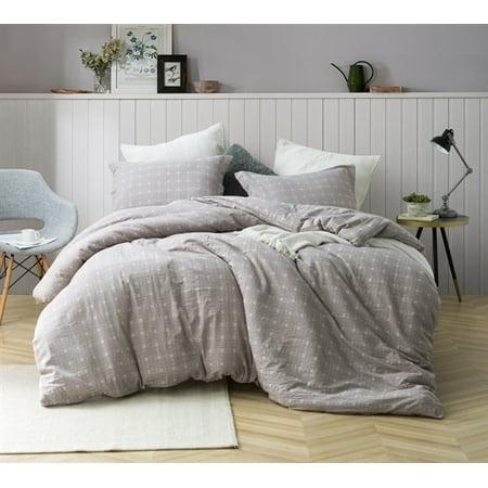 Farmstead - Oversized Duvet Cover - 100% Yarn Dyed Cotton Bedding (Rh Duvet Cover)