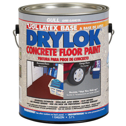 Ugl 1 Gallon Gull Drylok Latex Base Concrete Floor Paint